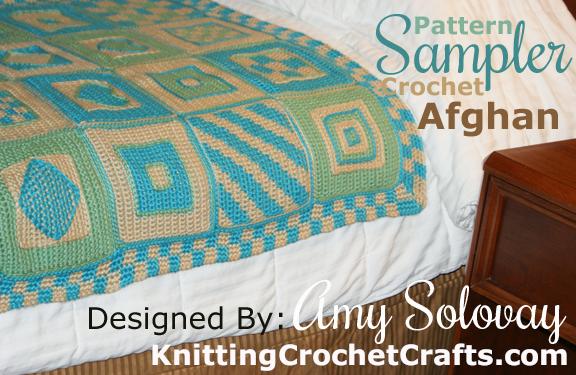 Crochet Pattern Sampler Afghan