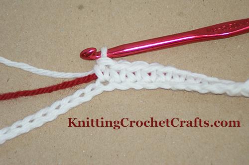 Tapestry crochet work in progress